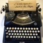 Literaturagentur SvH Schreibmaschine