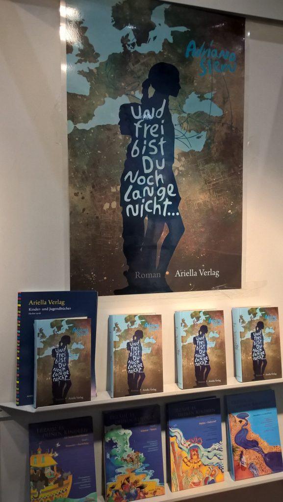 Zippi und Saladin auf der Frankfurter Buchmesse