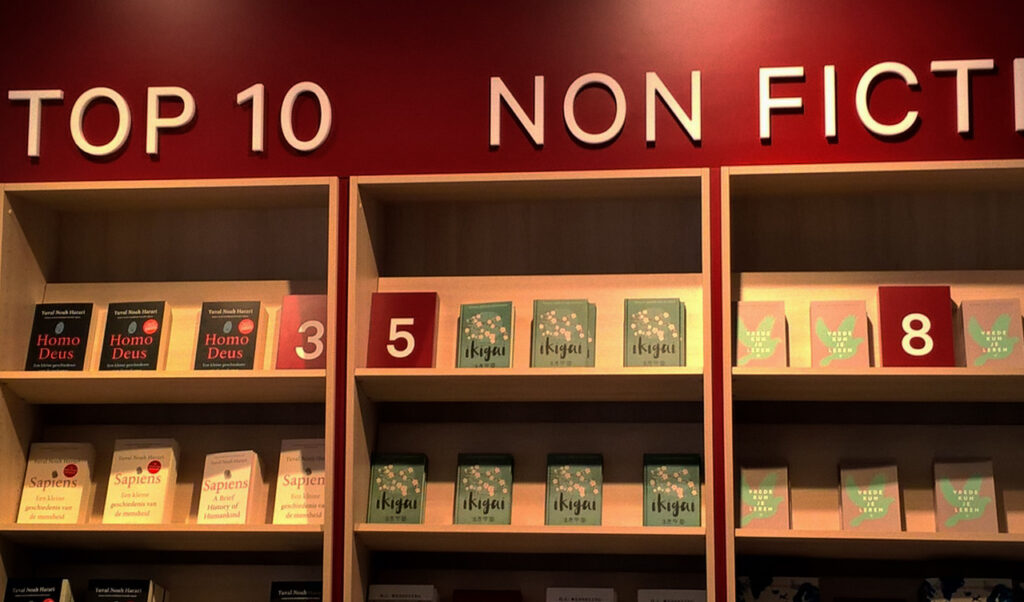 Ikagi in den Top Ten Non Fiction