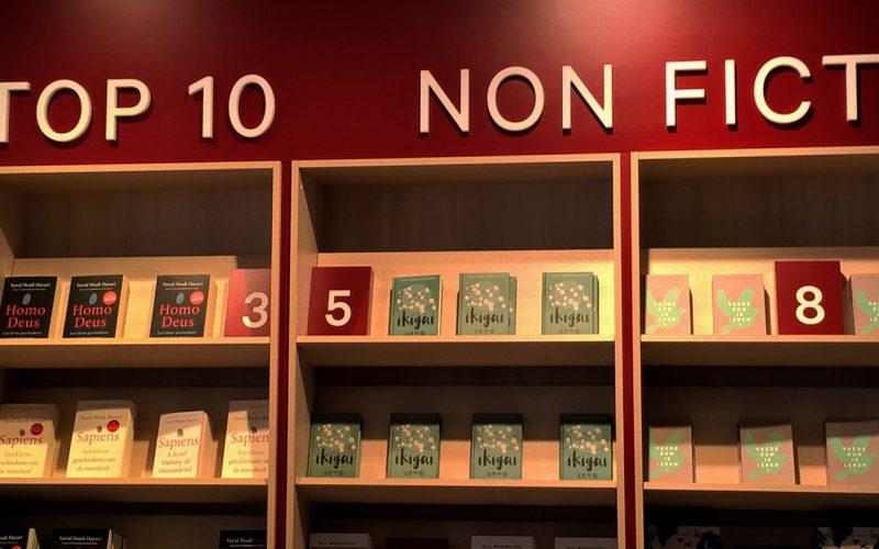 Ikagi in den Top Ten Non Fiction