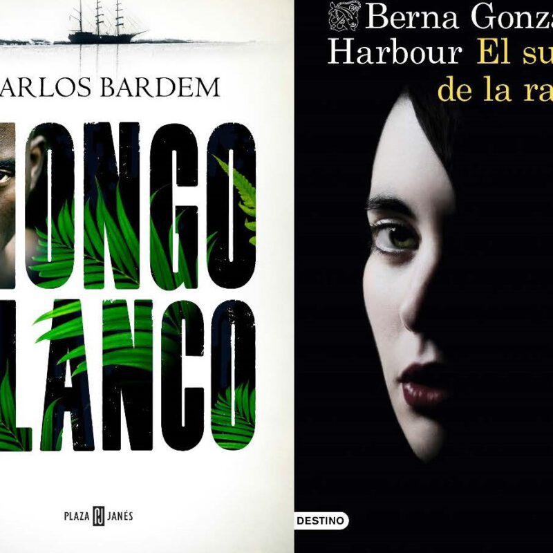 Berna González Harbor and Carlos Bardem awarded at the XXXIII Semana Negra de Gijón 2020 (the most important crime festival in Spain)