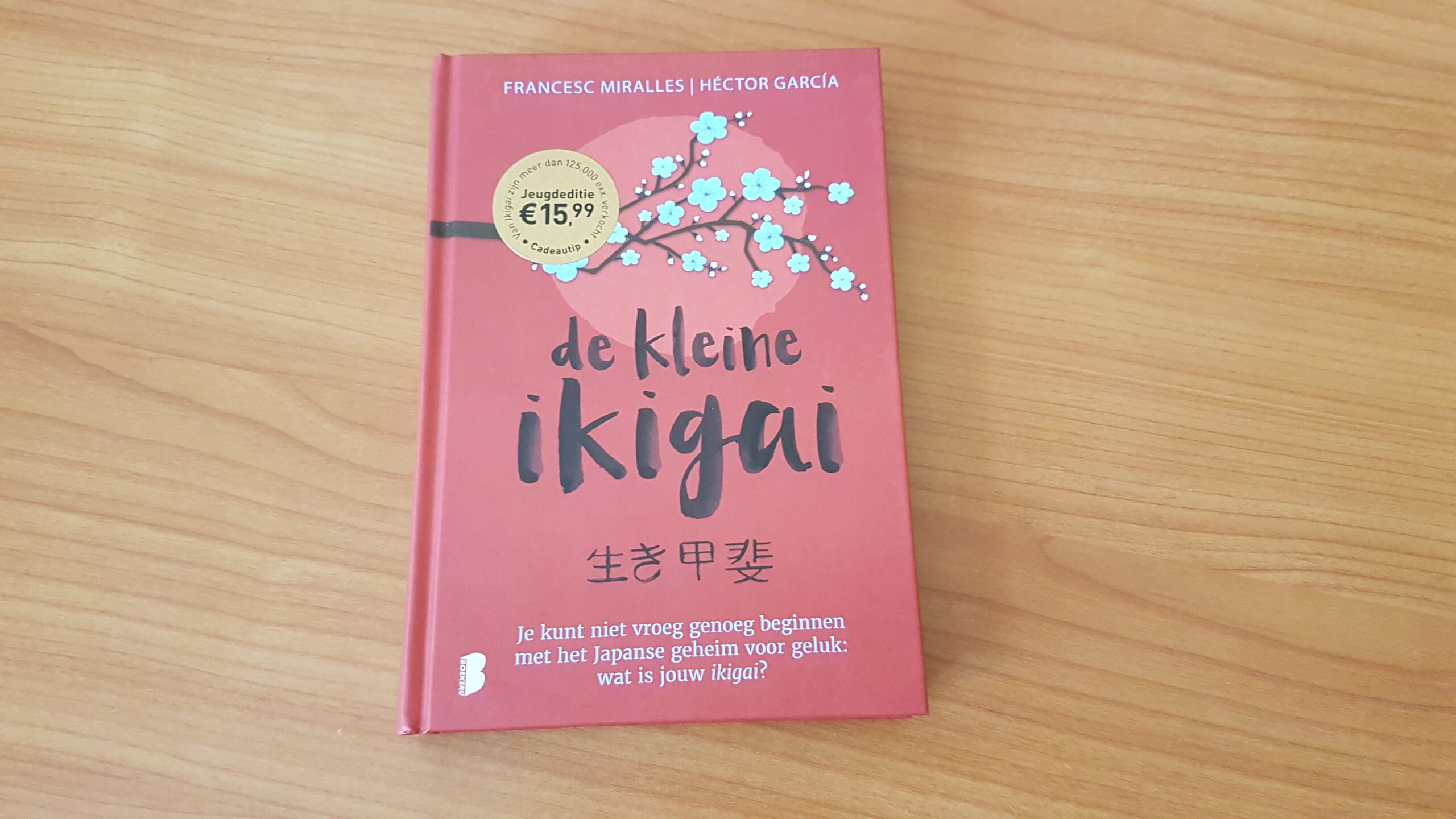 IKIGAI for young readers in den Niederlanden erschienen