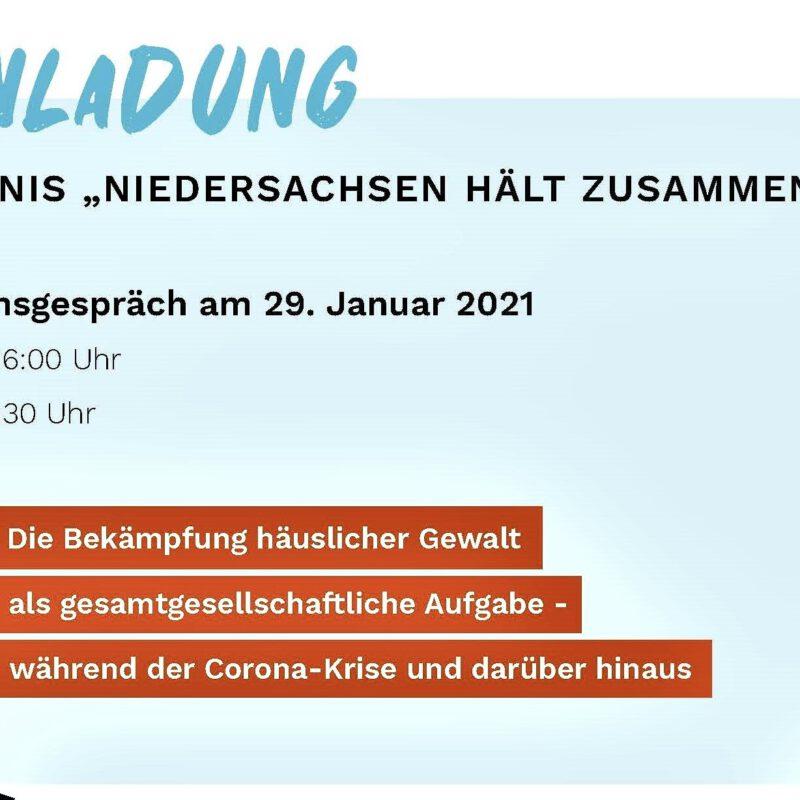 Einladung zur Podiumsdiskussion mit Antje Joel am 29.01.2021